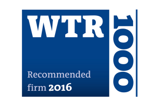 WTR – Recommended Firm 2016
