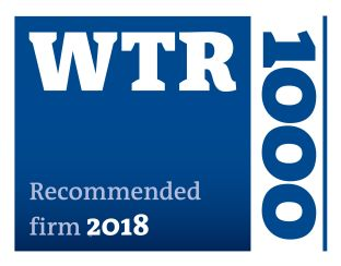 WTR – Recommended Firm 2018