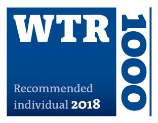 WTR – Recommended Individual 2018
